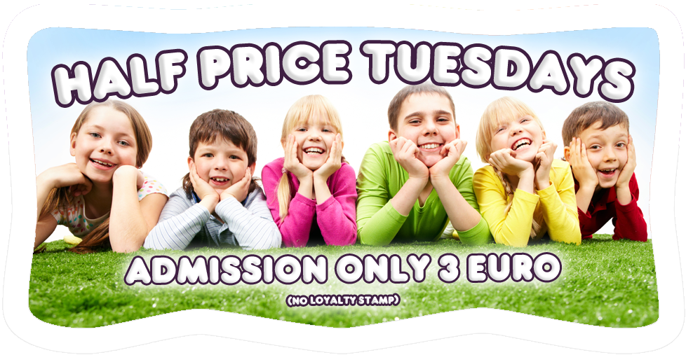 Half Price Tuesdays at Dizzy Rascals, Letterkenny, Donegal